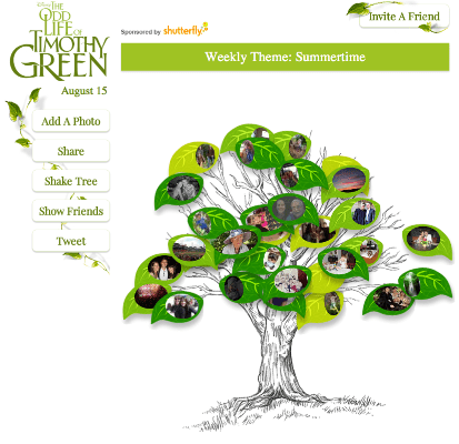#TimothyGreen Sweepstakes