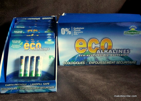 Eco Friendly Batteries From LEI Products Sweepstakes