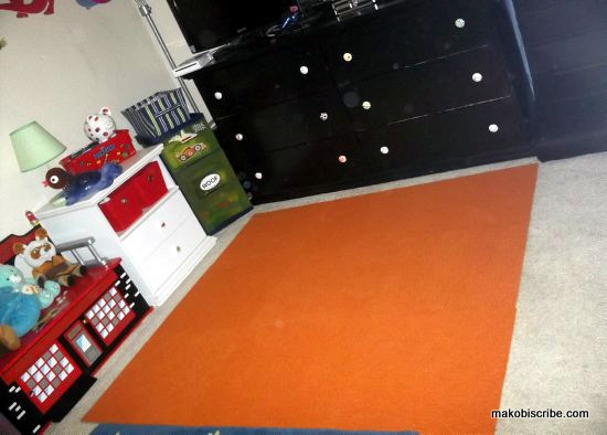Brighten A Room With Carpet Tiles
