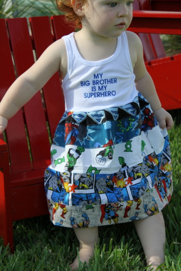 Superhero Clothes for Toddlers