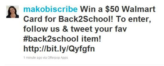 back2school sweepstakes