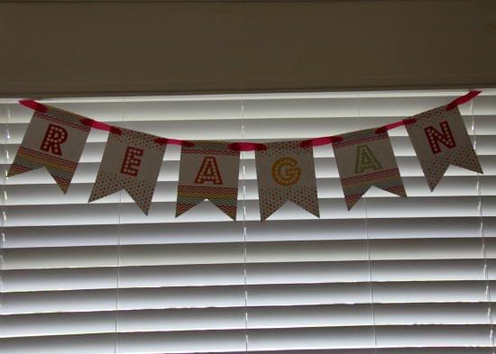 Personalized Birthday Party Banners
