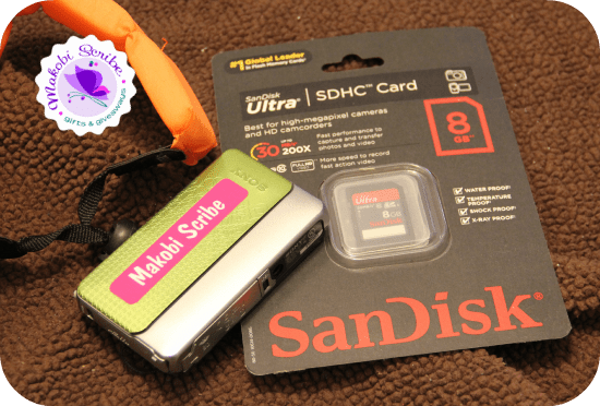 SanDisk Memory Card Ultra SDHC Sweepstakes