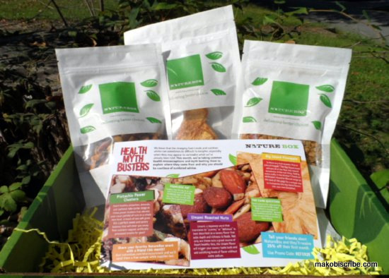 Healthy Snacks Monthly Box Subscription
