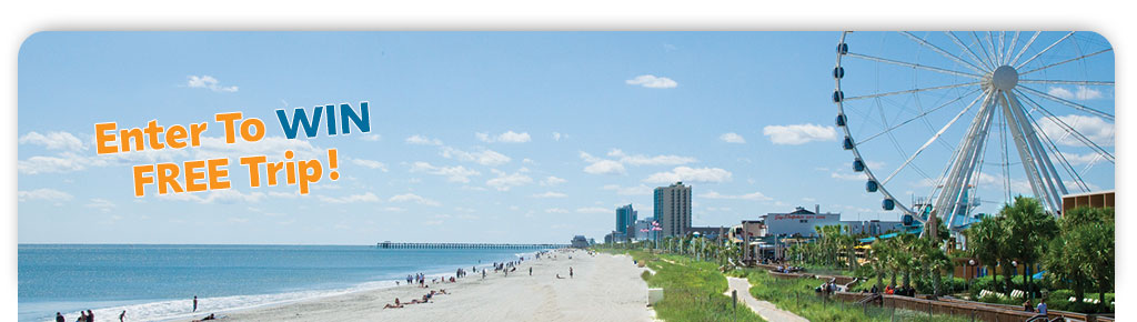 Myrtle Beach Dream Vacation Sweepstakes