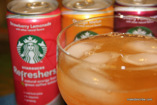 Starbucks Refreshers Offer A Low Calorie Alternative