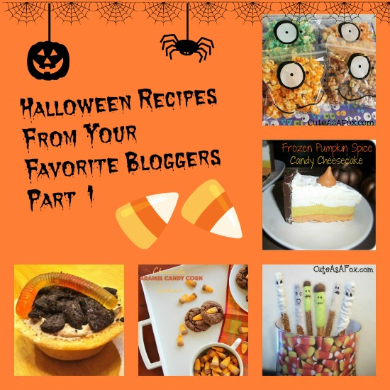 Halloween Recipes From Your Favorite Bloggers Part 1