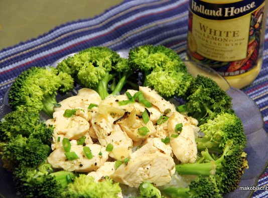 Infused Garlic Lemon Chicken With Broccoli