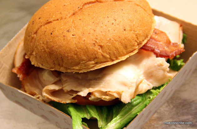 Arby's New Grand Turkey Club Review