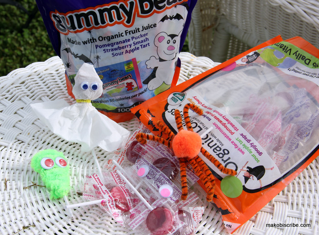 Creating Halloween Crafts for kids with Candy