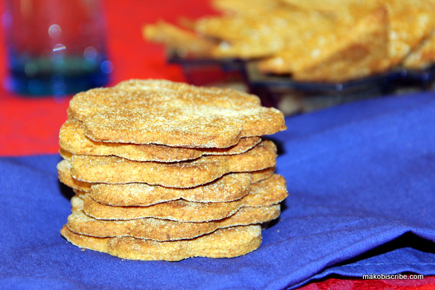 Sweet Potato Crackers Recipe