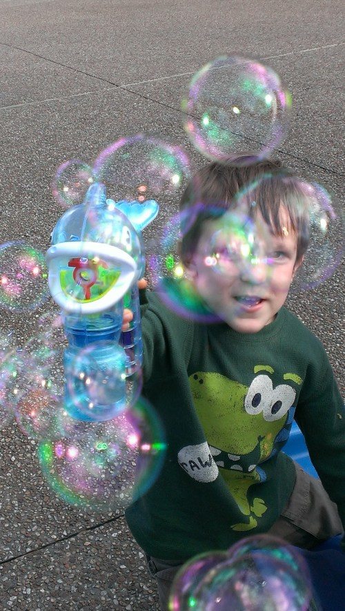Bubbles at Sea World