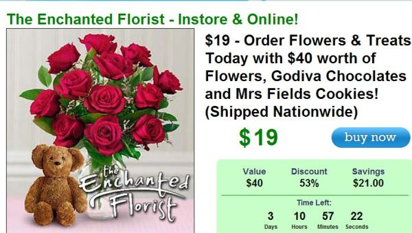 Mastercard florist delivery