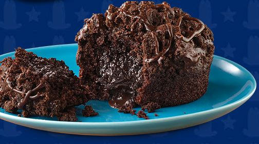 National Hat Day – Fifty Percent off Chocolate Molten Lava Cake at Arbys