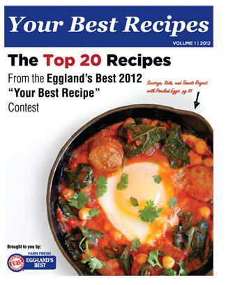 Get Your Best Recipes eCookbook Free From Egglands Best
