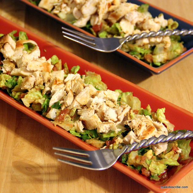Paleo Diet: Southwestern Chicken Salad