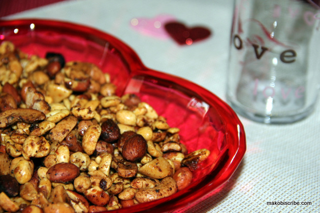Bitters Sweet And Spicy Glazed Nuts Recipe