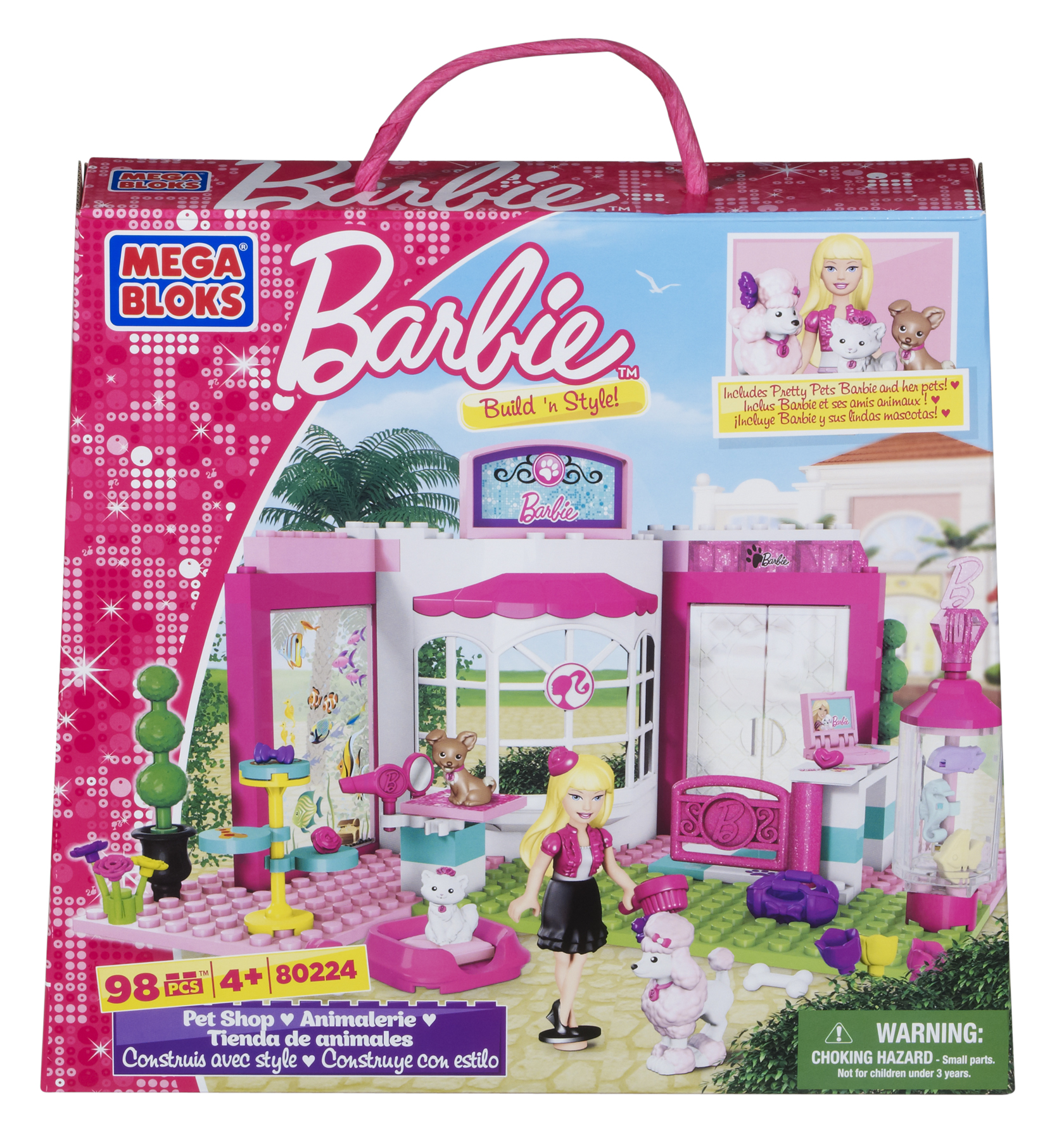 Mega Bloks® Barbie® Build 'n Style Pet Shop #MegaBloksBarbie