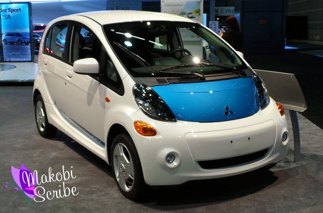 Get Electric! Mitsubishi i-MIEV At Chicago Auto Show #smp13 #cas13