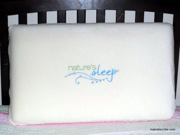 Nature's Sleep Vitex Memory Foam Pillow Review