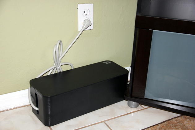 tips to organize power cords