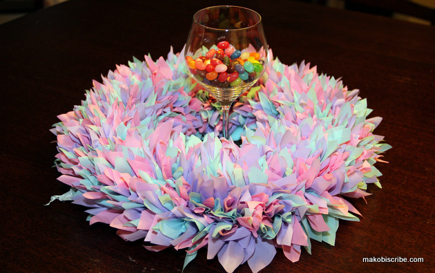 spring table wreath
