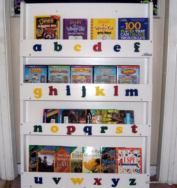 How To Organize Your Kids Books Easily