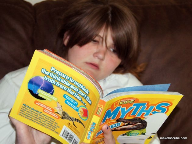 Caitlin and Nat Geo Book