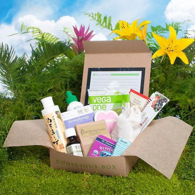 Going Green Is Easy With Conscious Box