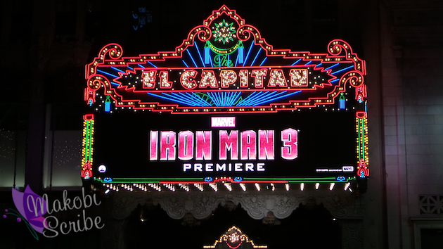 El Capitan Theatre Iron Man 3