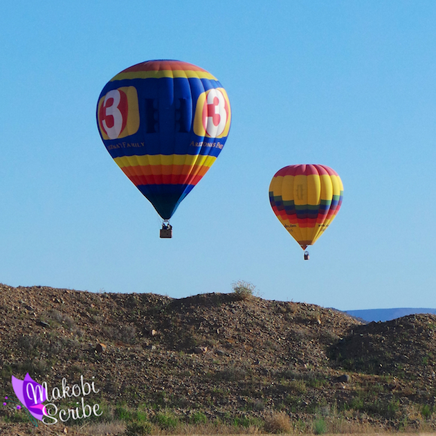 Enjoying The Views Of Phoenix With Hot Air Expeditions #BloggersGo