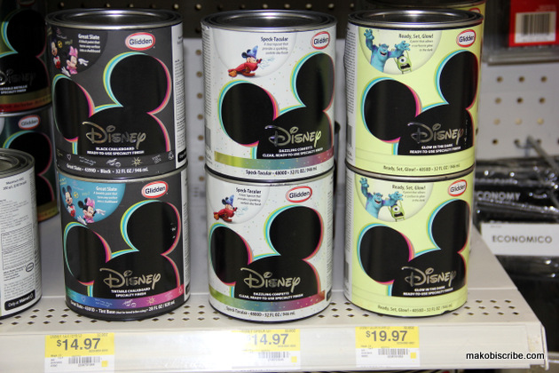 Disney glow in the dark paint