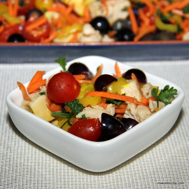 Paleo Chicken Fruit Salad Recipe