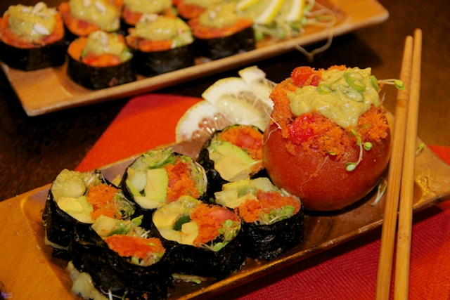 Raw diet Sushi recipe
