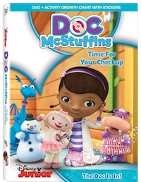 Doc McStuffins Time For Your Check Up DVD Review