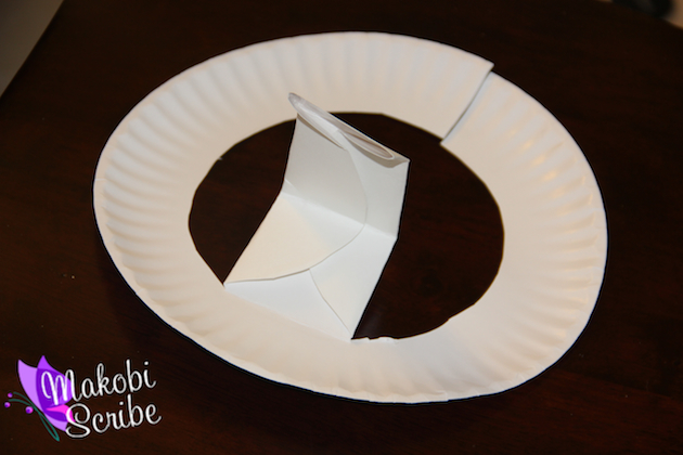 Easy Paper Plate craft for Fathers Day