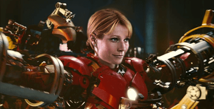 gwyneth paltrow in iron man suit