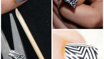 Rockin' Nail Art That Is Easy To Do
