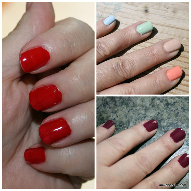 Vegan Nail Polish In Hot Summer Colors