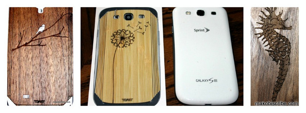 Eco Friendly Wooden Phone Covers