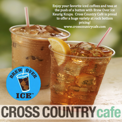Cross Country Cafe Brew Over Ice KCups Sweepstakes