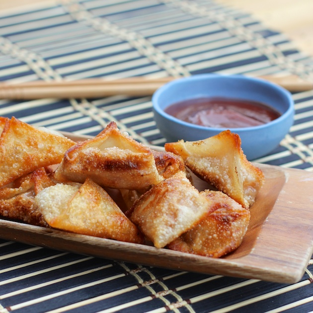 Barbecue Fried Wontons Recipe FP #shop