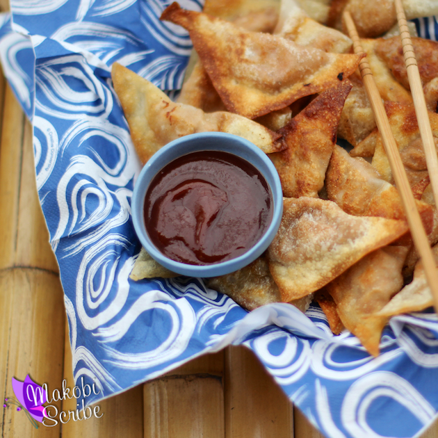 Barbecue Fried Wontons Recipe #shop