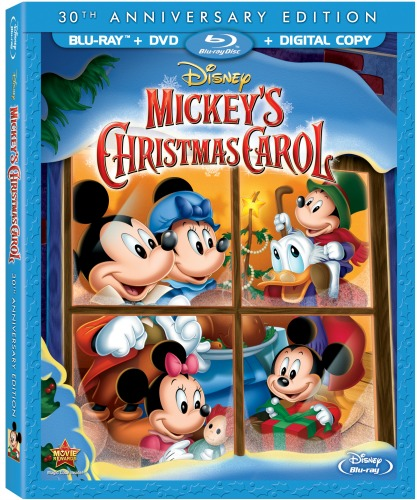 Celebrate The 30th Anniversary Of Mickey's Christmas Carol On DVD And Blu Ray