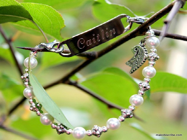 What Is Hot For Teens This Holiday? Engraved Bracelets