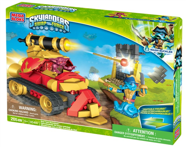 Mega Bloks Skylanders Swap Force™ Boss Tank Showdown