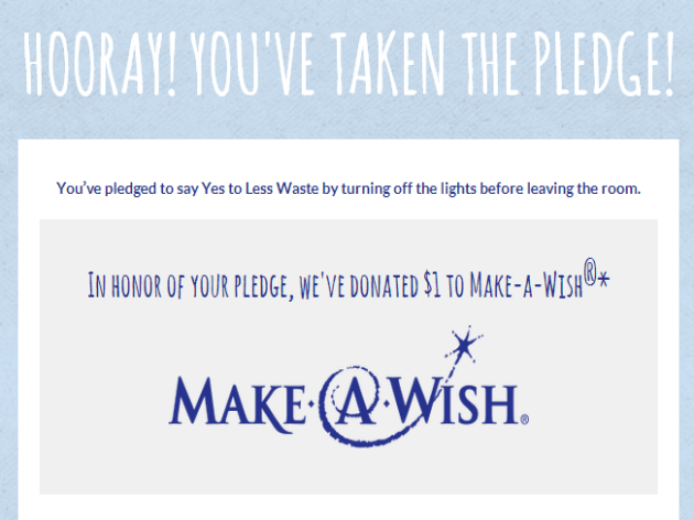 Say Yes To Less And Help Make A Child's Wish Come True #MC