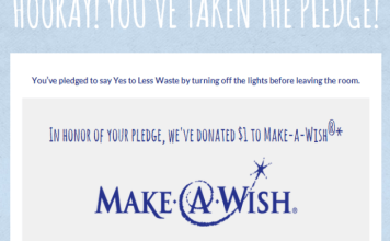 Say Yes To Less And Help Make A Child's Wish Come True