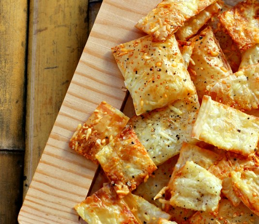 Parmesan Chips Recipe Appetizer For Football Parties