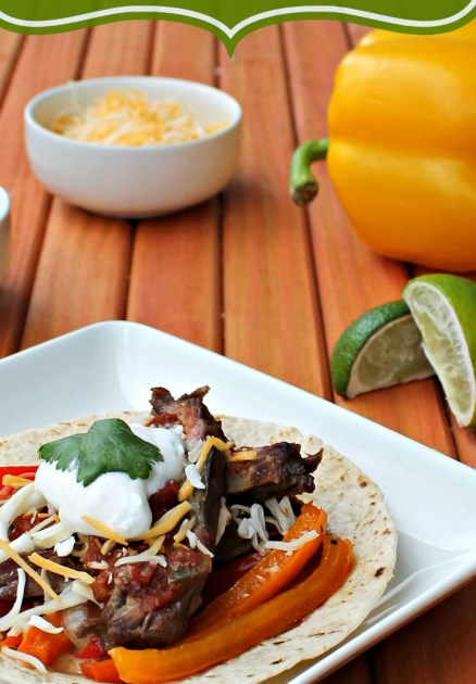 Spicy Filipino Steak Fajitas
